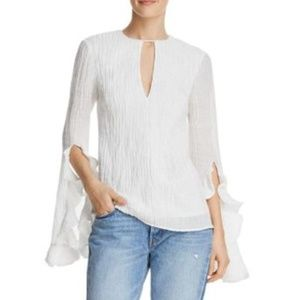 C/MEO Collective Sacrifices Flutter-Cuff Top XS